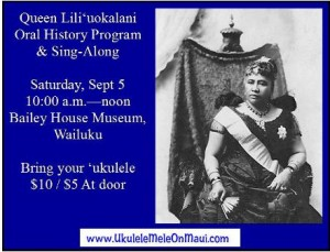 Hawaiian History Program Sept 5