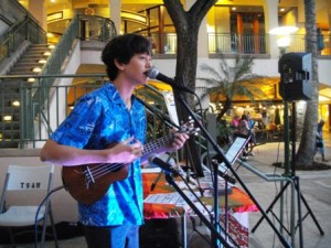 Young performer