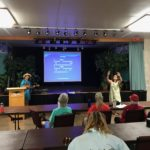 hula at sing-along