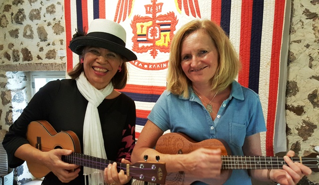 Ukulele Mele teaches private lessons