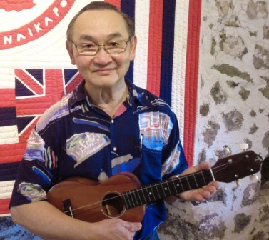 Patrick Goh plays with Ukulele Mele