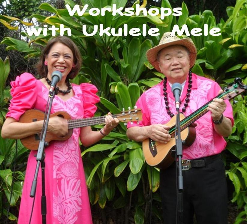 Ukulele Mele teaches strumming workshops