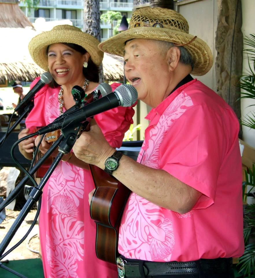 The Hawaiian Serenaders entertain