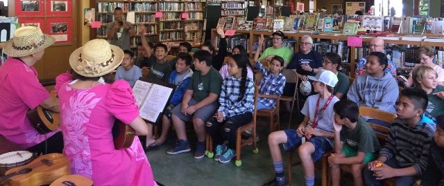 Hawaiian Serenaders at Lahaina Library