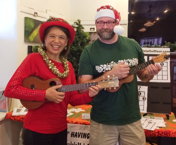 Sean takes Ukulele Mele workshop