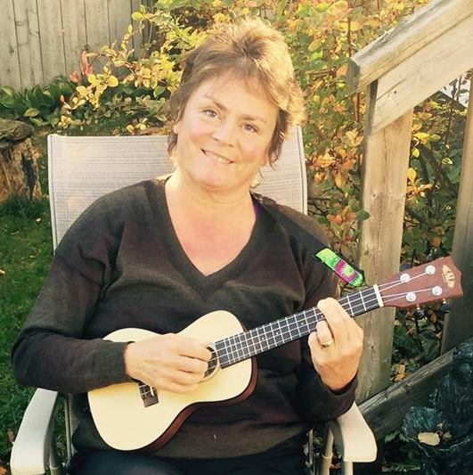 LeRae takes Ukulele Mele workshop